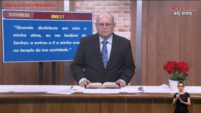 "Igreja Cristã Maranata - ""O clamor da alma"" - 03/08/2021 Terça"