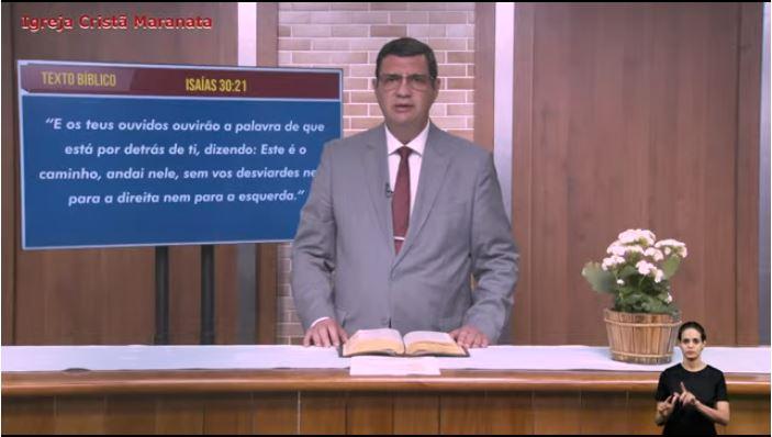 """Igreja Cristã Maranata - """"Na direção do Espírito"""" - 06/09/2021 Segunda"""